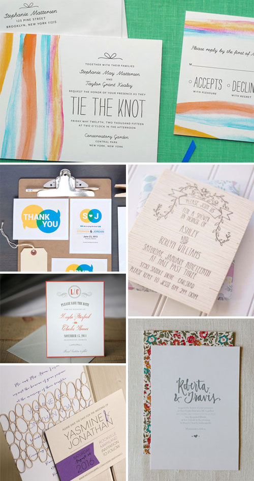 Modern Invitation Design