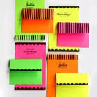 DIY Printable Neon Stationery | How About Orange