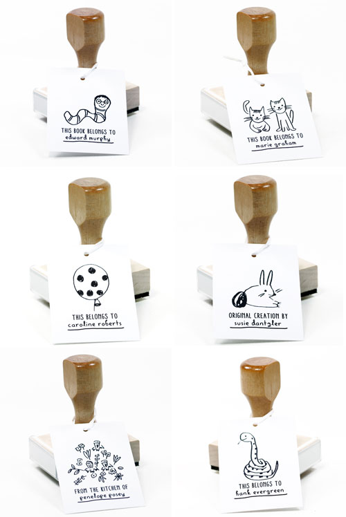 Personalized Rubber Stamps | The Small Object