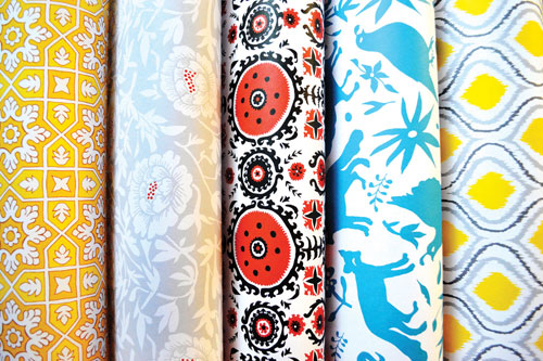 Textile Inspired Gift Wrap | Wild Ink Press