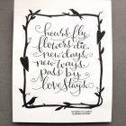 Letterpress Art Print | Tag Team Tompkins