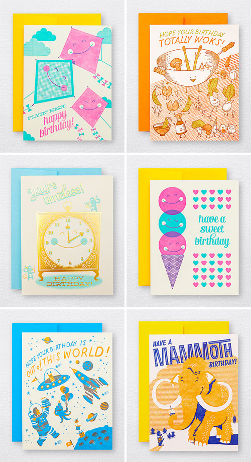 Fun Illustrated Birthday Cards | Hello! Lucky