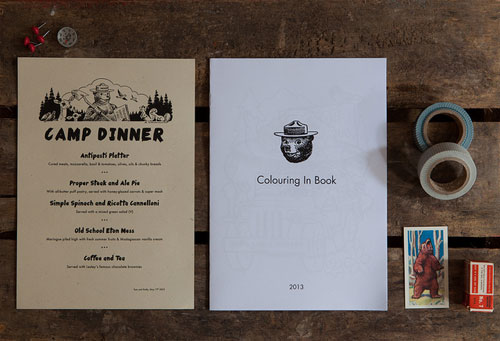 Tom + Emily's Moonrise Kingdom Inspired Wedding Invitations