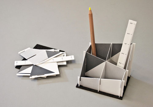 Letterpress Desk Set | Sarah Rainwater