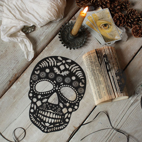 Lasercut Sugar Skull | Mr. Yen