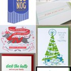 A Letterpress Christmas, Roundup #1 as seen on papercrave.com