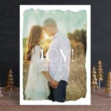 Aquarelle No. 2 Holiday Photo Cards