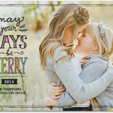 Cherished Days Holiday Photo Cards