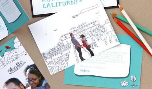 Jeff & Judy's Quirky Juno-Inspired Wedding Stationery   Anticipate Invitations