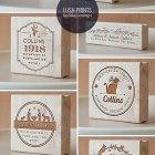 Custom Holiday Return Address Stamps | Lush Prints