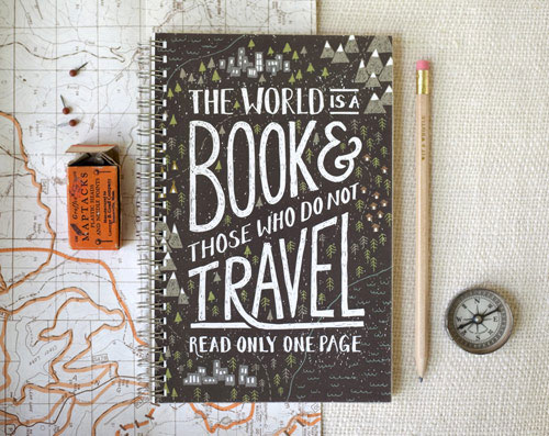 Travel Notebook | Wit & Whistle