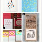 2014 Calendars, Part 5 as seen on papercrave.com