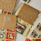 Vintage Holiday Postage Stamp Packs | Flutter Letterpress