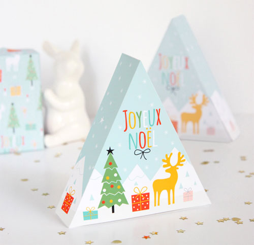 Free Printable Holiday Box | Zü