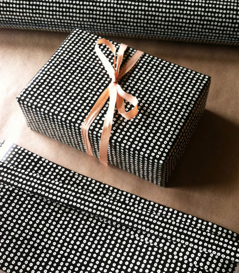 Sequins Print Gift Wrap | Kate Zaremba