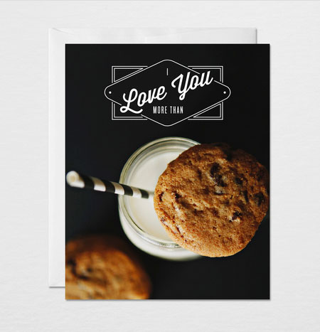 I Love You More Than Chocolate Chip Cookies | Gather & Dwell