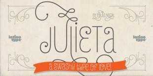 Julieta Font by Latinotype