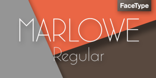 Marlowe Font by FaceType