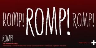Romp Font by Positype