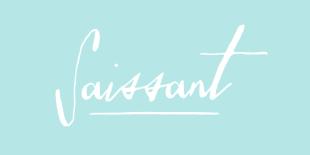 Saissant Font by Magpie Paper Works