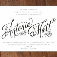 Traditional Royalty Wedding Invitations by Two Thirteen Studio