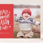 Hap – Happiest Time Holiday Photo Cards