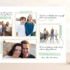 Our Favorite Moments Holiday Photo Cards