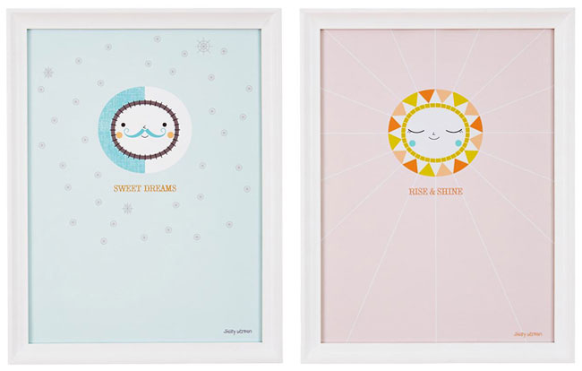 """Sweet Dreams"" and ""Rise & Shine"" Art Prints 