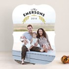 Branched Holiday Photo Cards