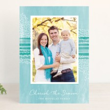 Christmas Canvas Holiday Photo Cards
