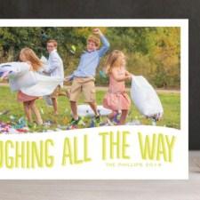 Hahaha Holiday Photo Cards