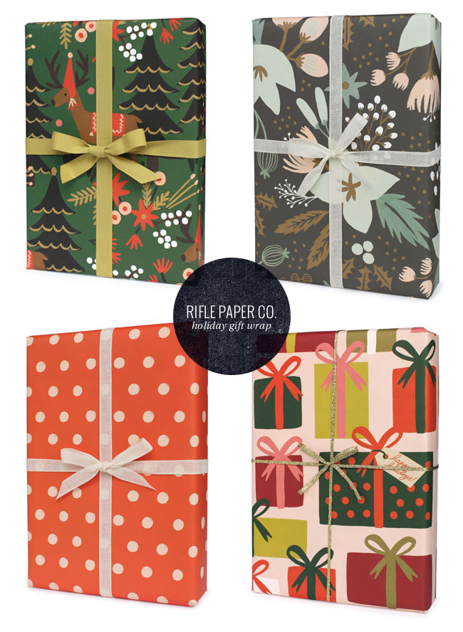 Holiday Patterned Gift Wrap | Rifle Paper Co.