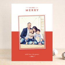 So Very Holiday Photo Cards
