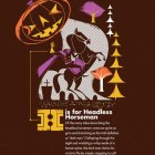 Mythical Creatures Poster (detail) | 55 Hi's (Scotty Reifsnyder illustrations)