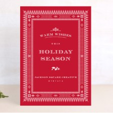 Rococo Business Holiday Cards
