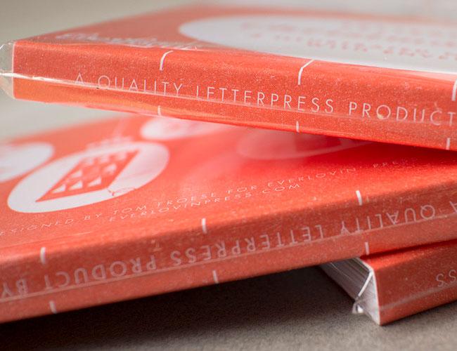 Letterpress Cards | Tom Froese (Illustration) + Everlovin' Press (Printing)
