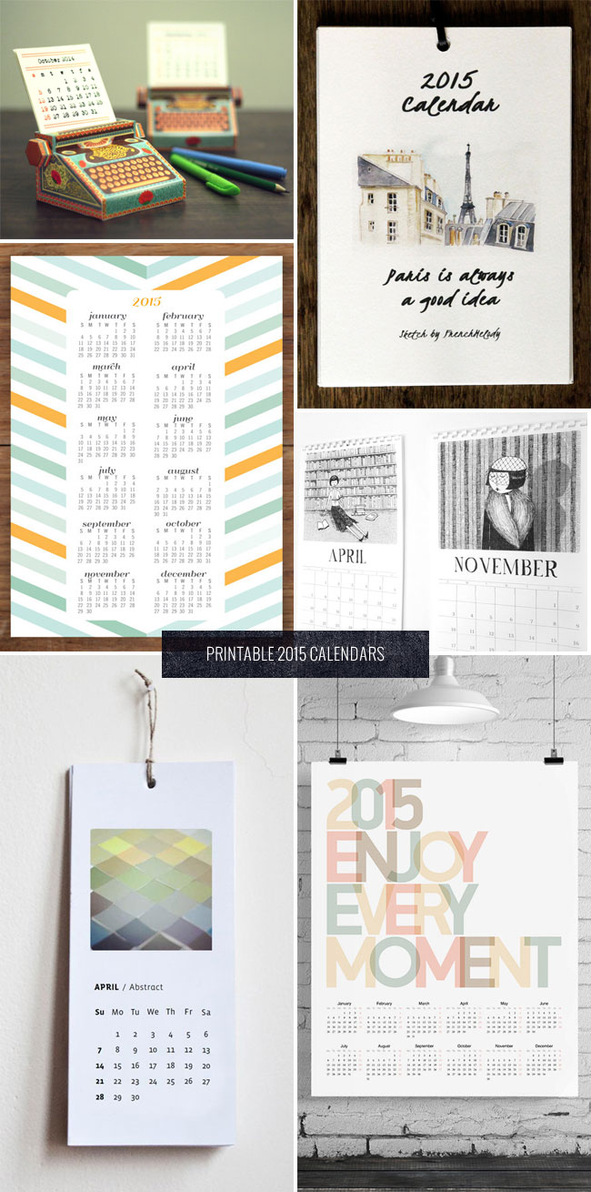 2015 Printable Calendars