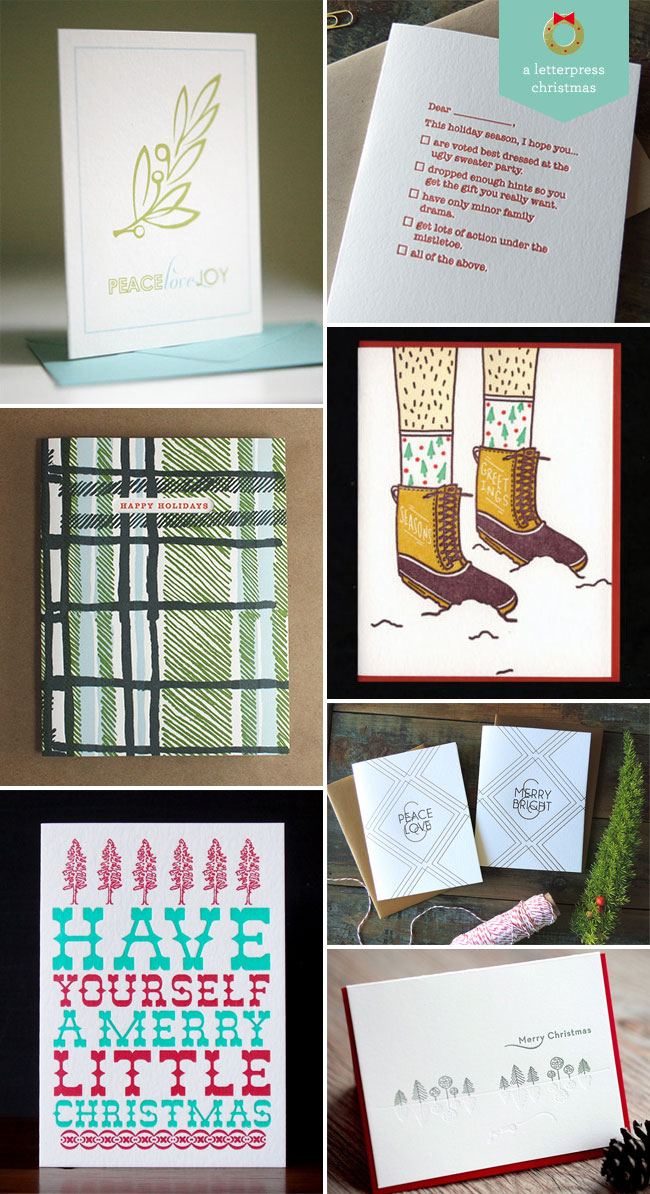 A Letterpress Christmas, Roundup #2