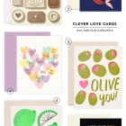 Clever #Valentine / Love Cards from Hello! Lucky & Idlewild Co.