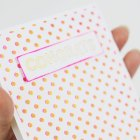 """DIY Metallic Gold & Neon Pink """"Cheers"""" Card   Paper Crave for @Craftsy"""