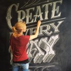 Chalk Lettering Class by Annica Lydenberg for CreativeLive