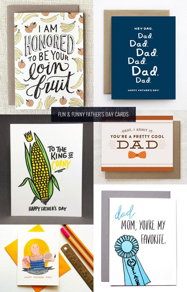 Funny & Clever Father's Day Cards