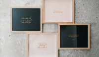 Copper Foil Art Prints by Seven Swans Stationery