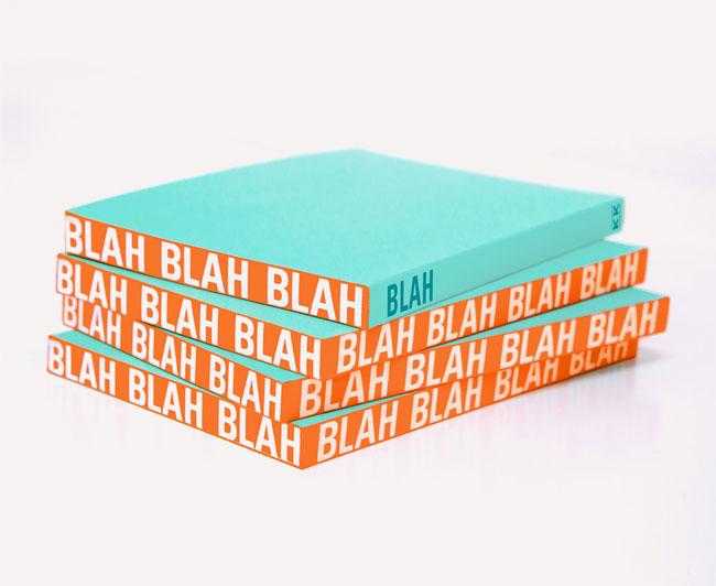Knock Knock Blah Edge Notebook