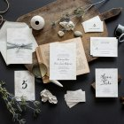 Lima Letterpress Wedding Suite by Hello Tenfold (photo credit: Lissa Gotwals)