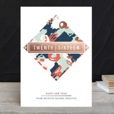 Gallery Year Business Holiday Cards by Angela Marzuki