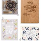 Beautiful Floral & Botanical Mother's Day Cards