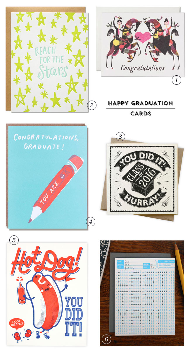 Graduation Congratulations Cards