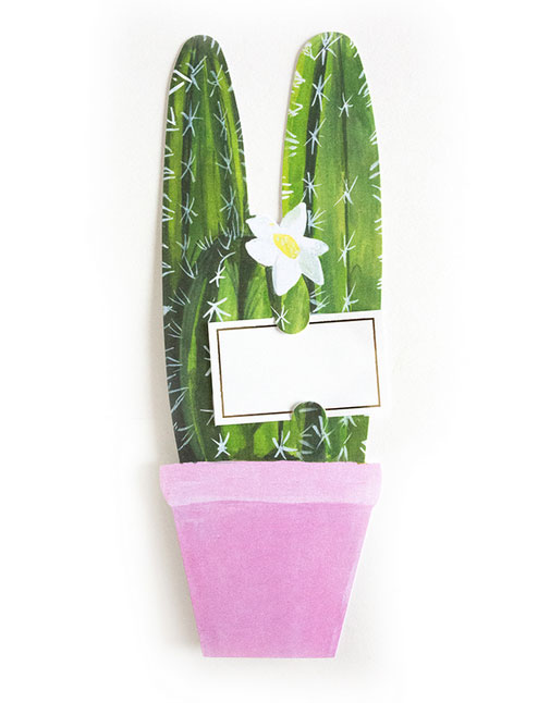 Cactus Florever Card from Thimblepress