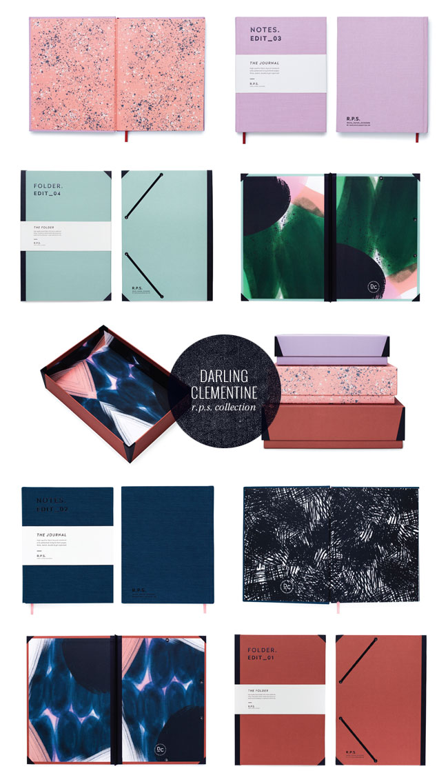 R.P.S. (RockPaperScissors) Collection from Darling Clementine